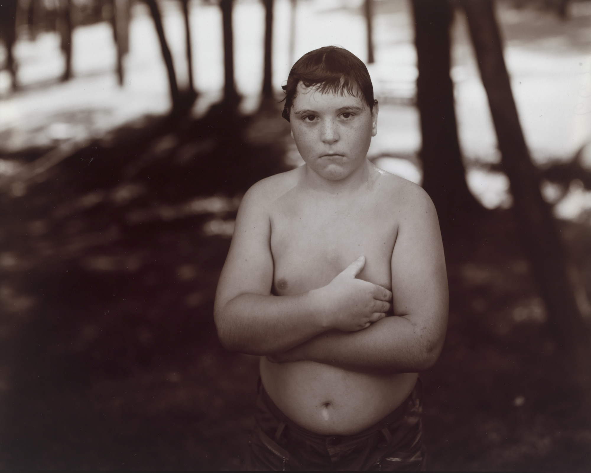 Judith Joy Ross. Untitled, from Eurana Park, Weatherly, Pennsylvania. 1982