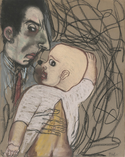 Alice Neel. Sam and Richard. 1940