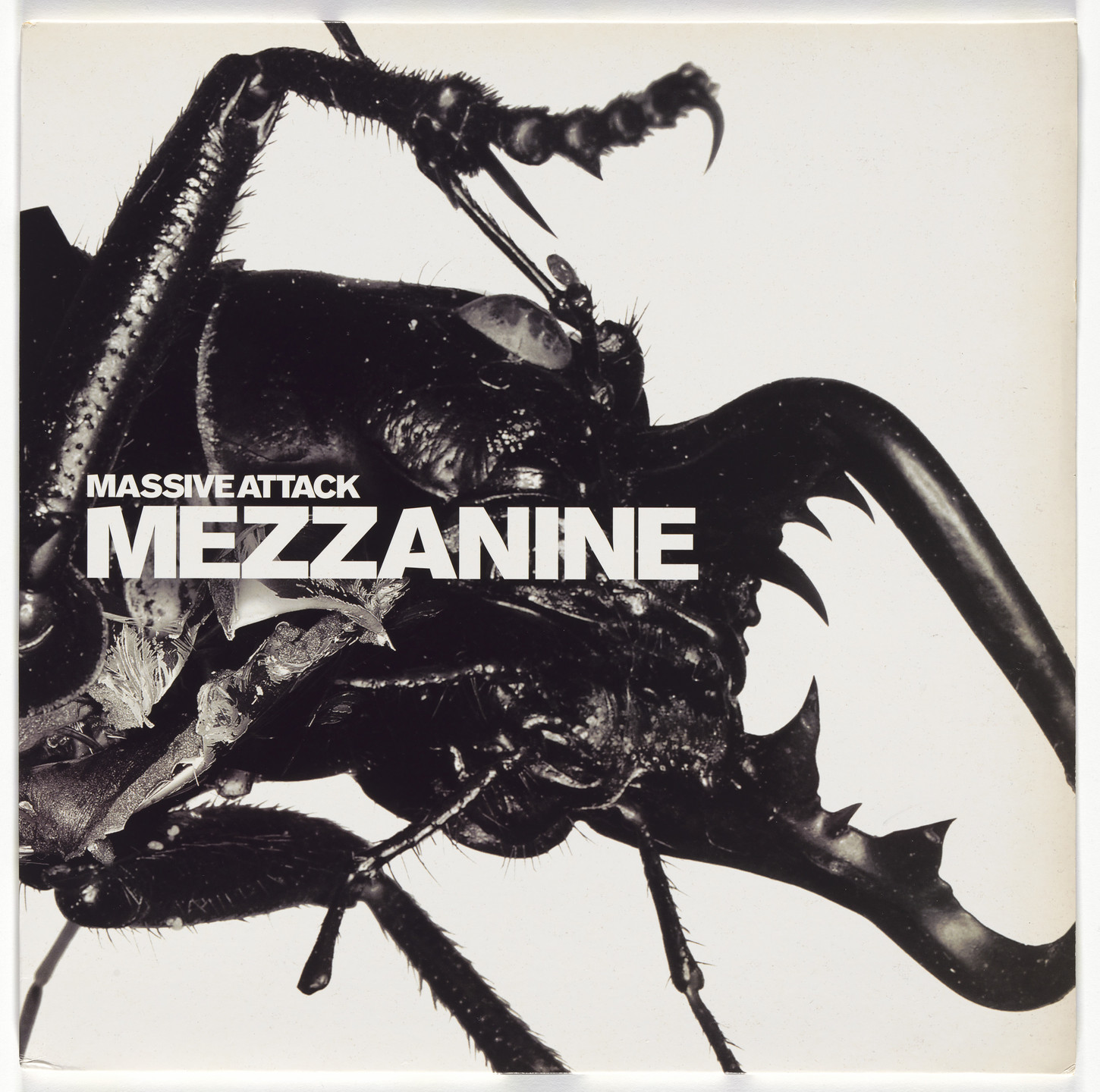 Tom Hingston, Robert del Naja, Nick Knight. Album cover for Massive Attack, Mezzanine. 1998