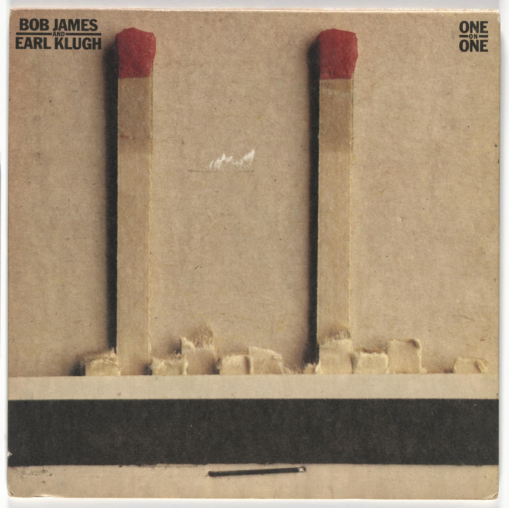 Paula Scher, Arnold Rosenberg  Album cover for Bob James and Earl