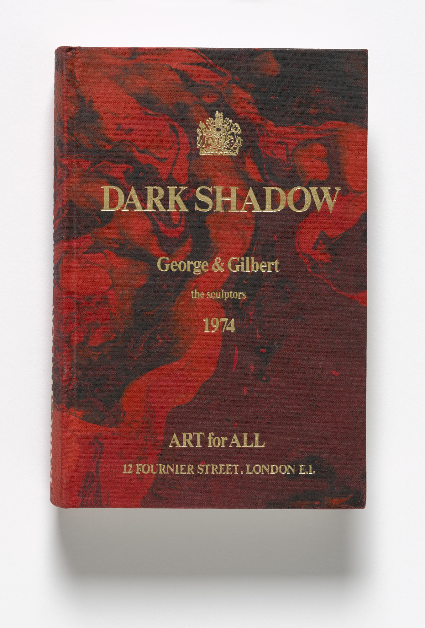 Gilbert & George, Gilbert Proesch, George Passmore. Dark Shadow. 1974