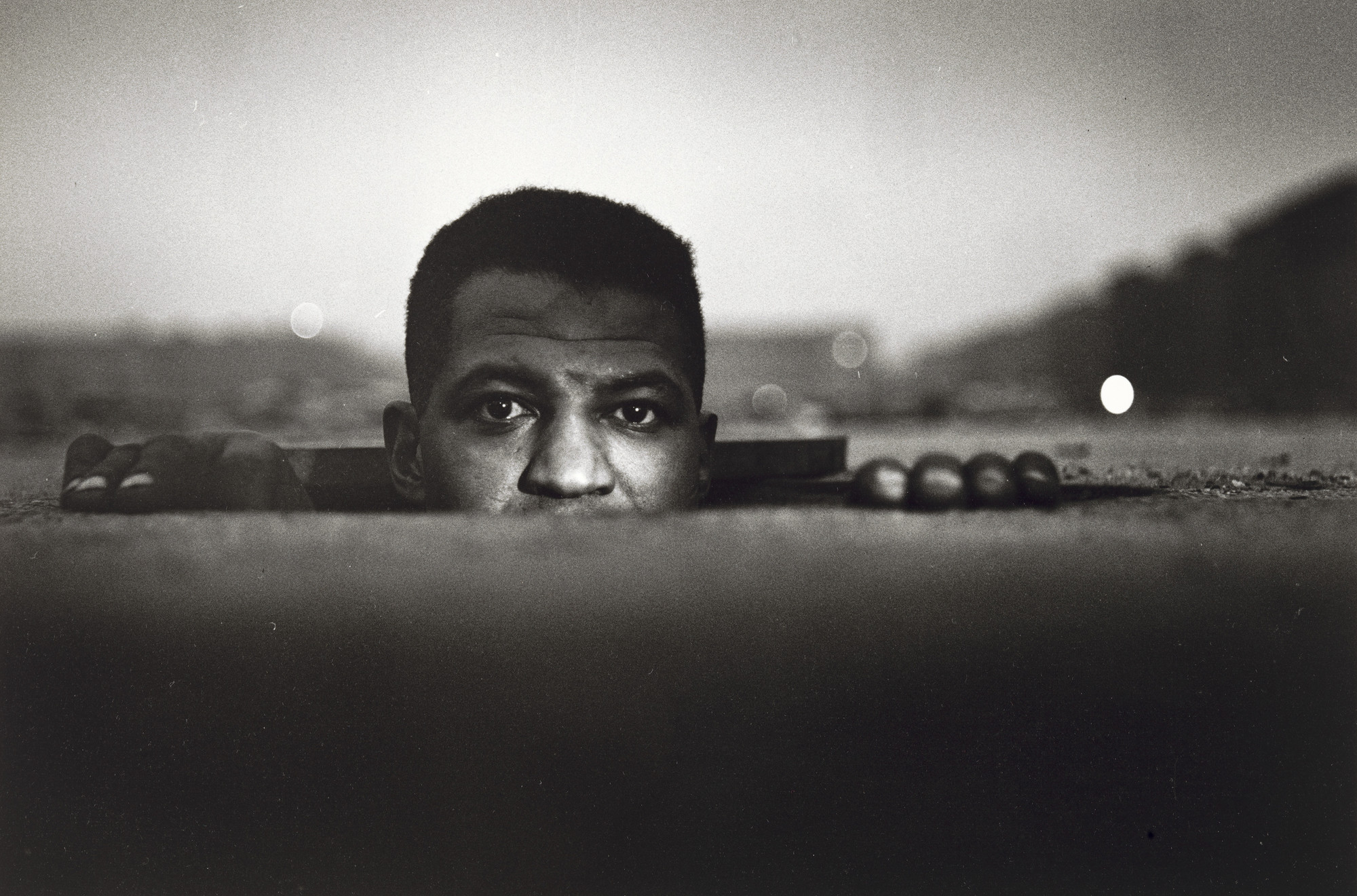 Gordon Parks. Emerging Man, Harlem, New York. 1952