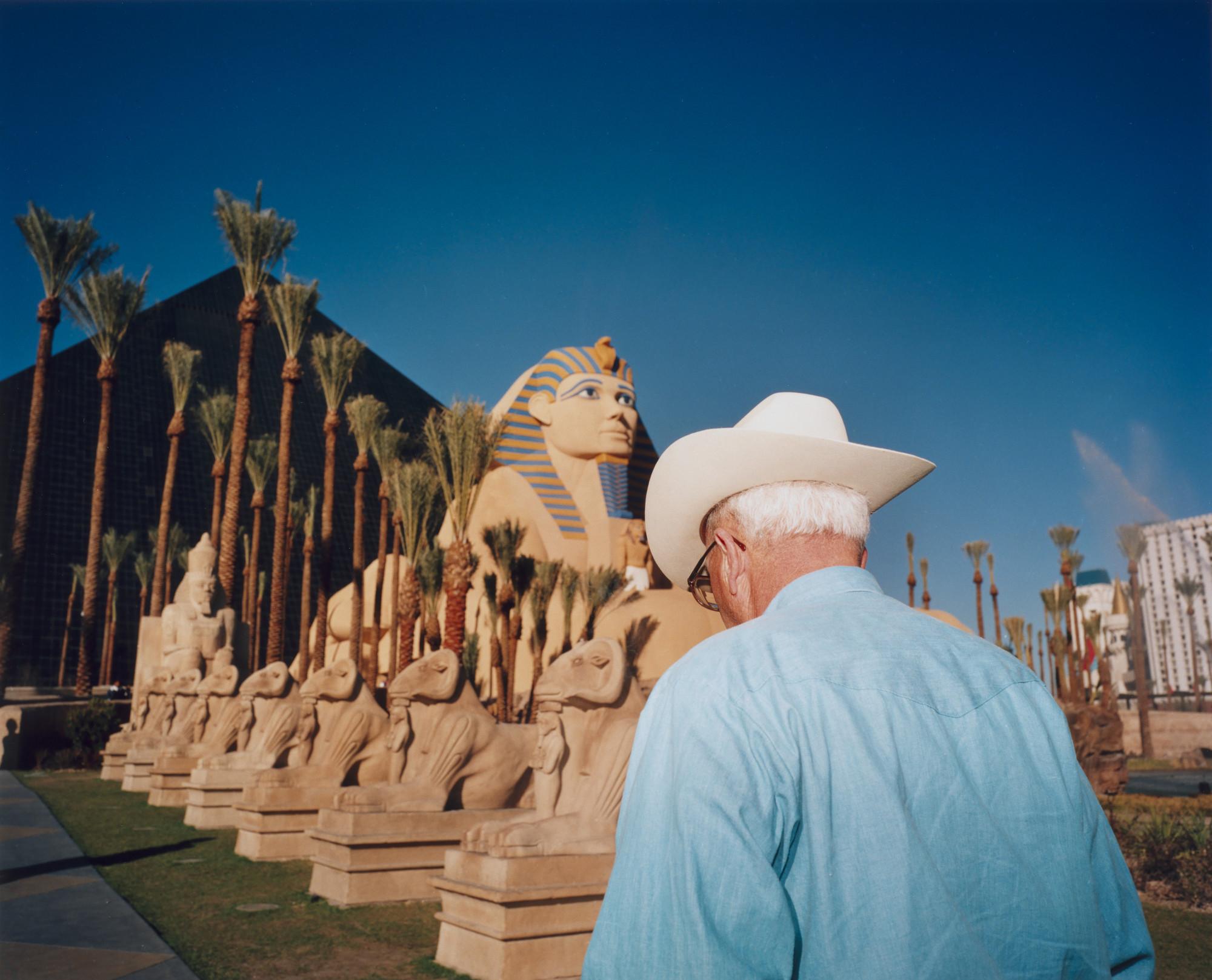 Las Vegas 94 >> Martin Parr The Luxor Hotel And Casino Las Vegas 1994 Moma