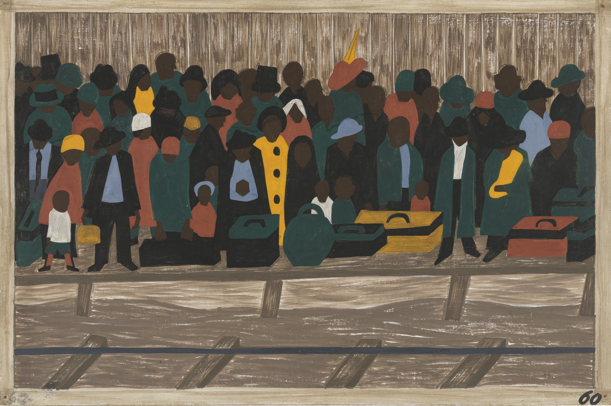 Jacob Lawrence. And the migrants kept coming. 1940-41