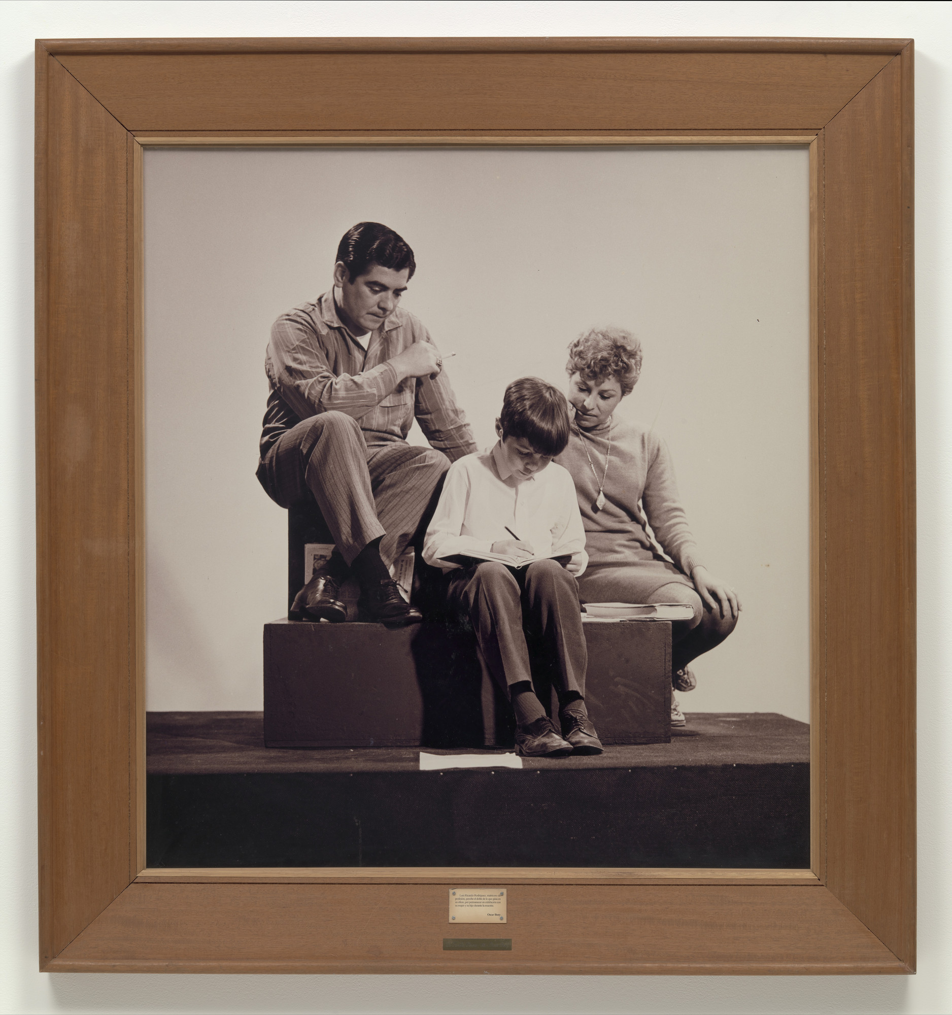 Oscar Bony. La Familia Obrera (The Working Class Family). 1968