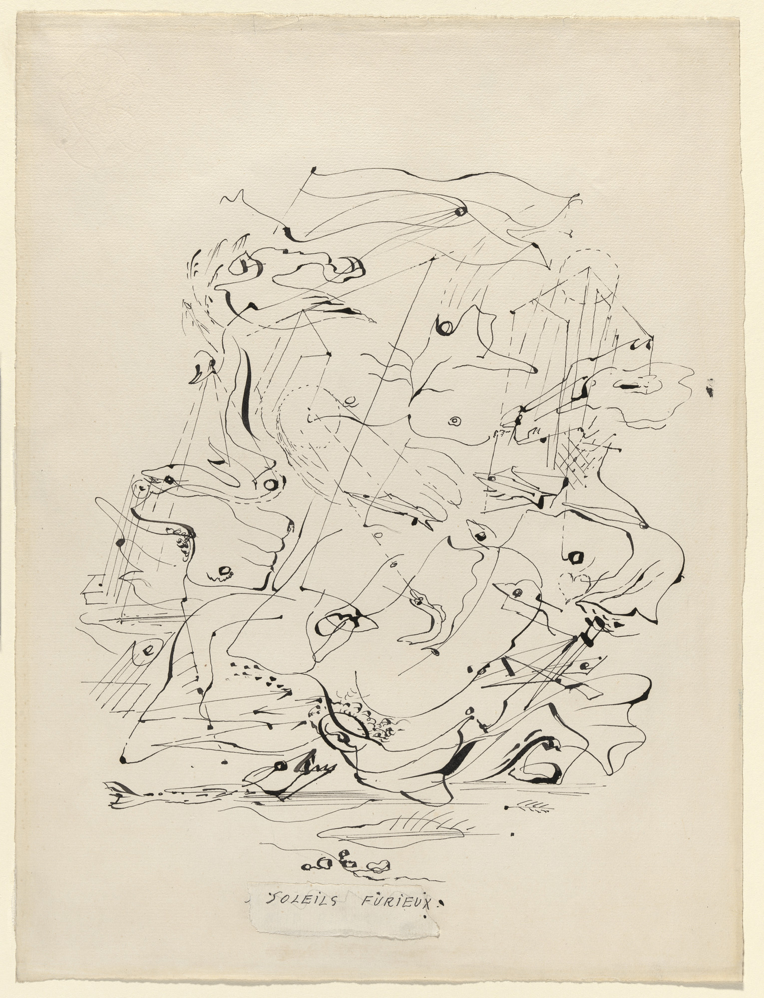 André Masson. Furious Suns. 1925