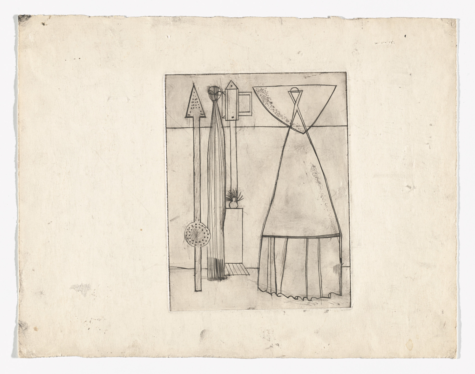 Louise Bourgeois. Famille. 1947-1949
