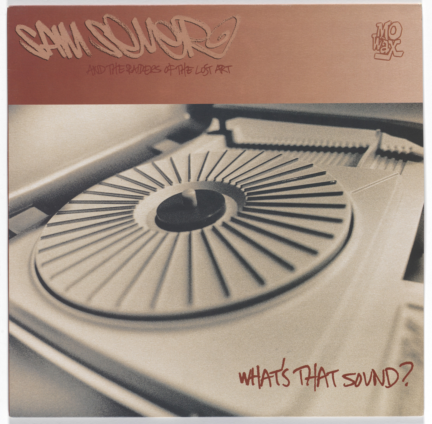 Ben Drury. Album cover for Sam Seever, What's That Sound. 1995
