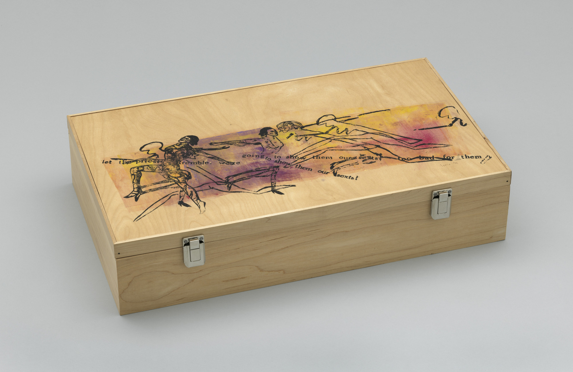 Various Artists, Nancy Spero, Ross Bleckner, Mike Kelley, Simon Leung, Louise Bourgeois, Kiki Smith, Lorna Simpson. ACT UP Art Box. 1993–94, published 1994