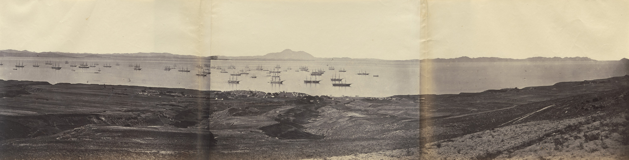 Felice Beato. Talien Whan Bay. July 21, 1860