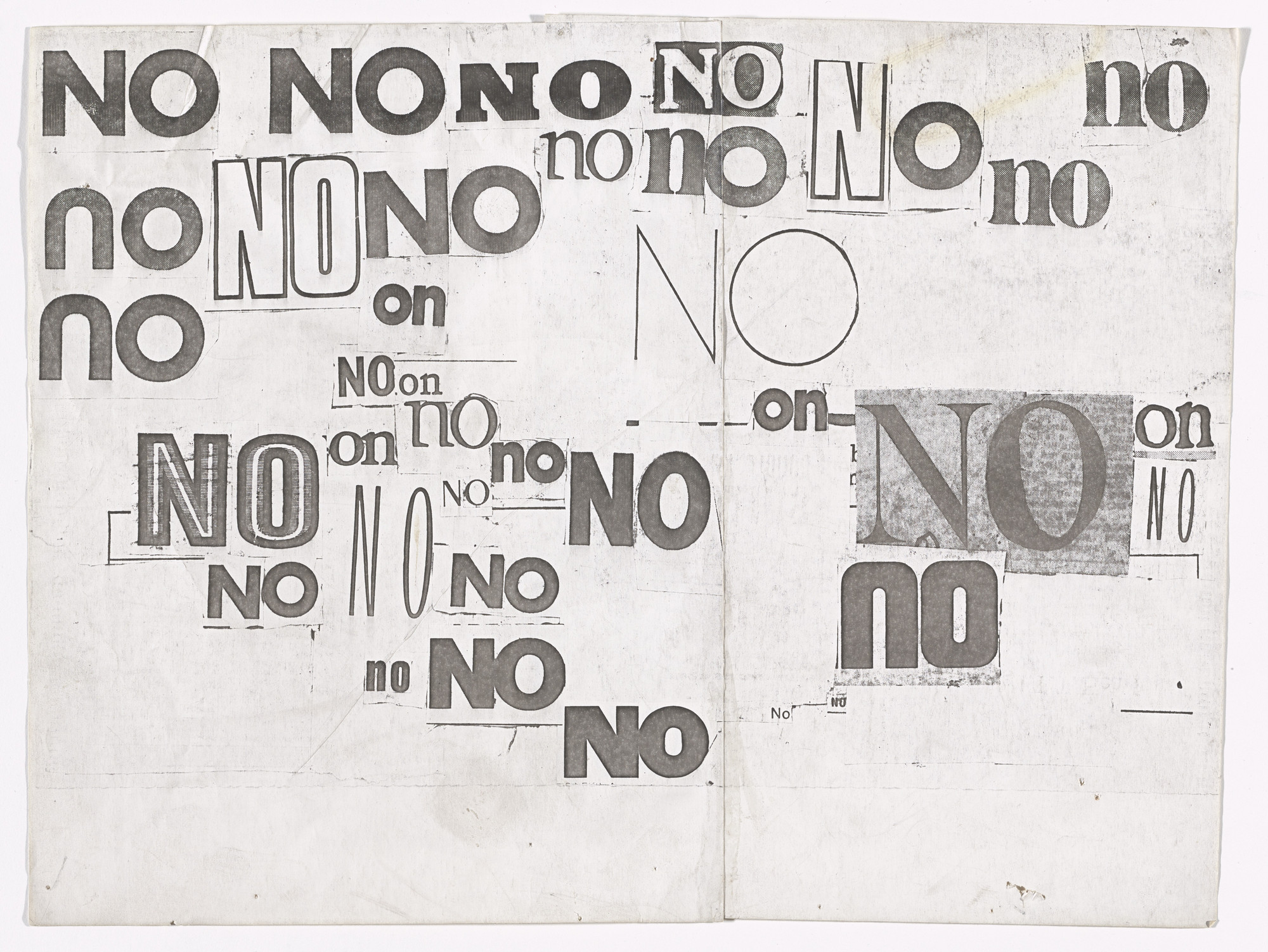 Louise Bourgeois. No (2). 1973