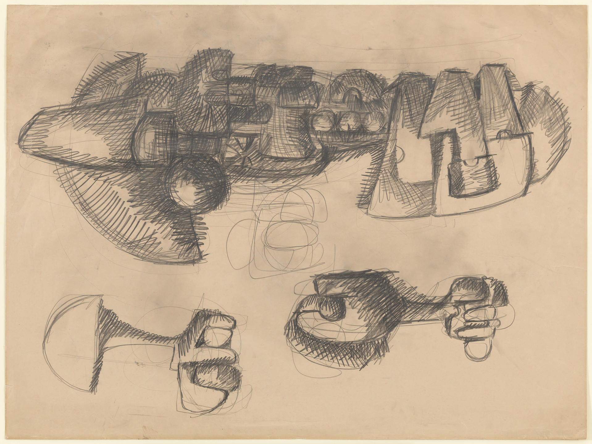 Andrea Cascella. Studies for a Sculpture. 1964