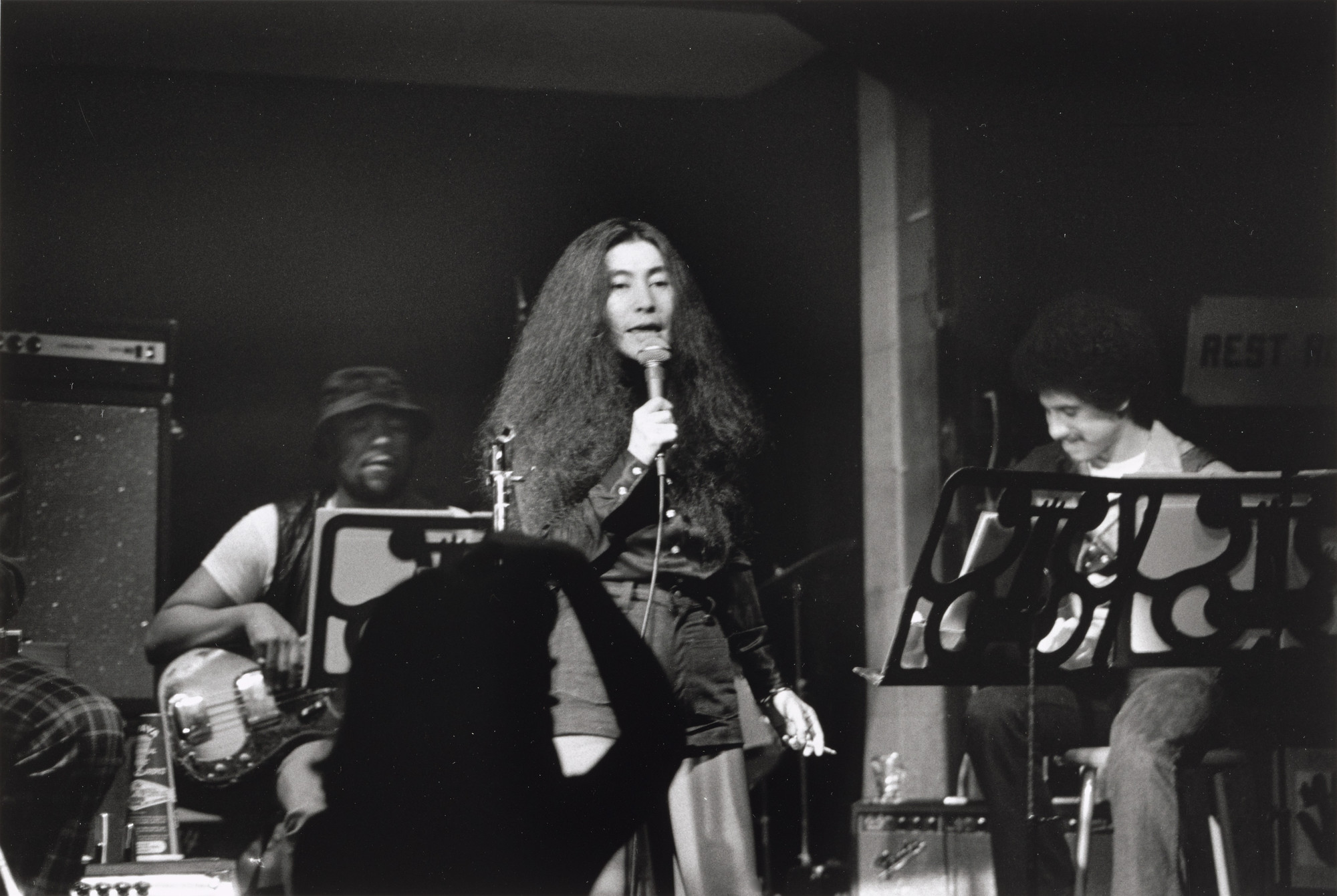 Fred W. McDarrah. Yoko Ono and the Plastic Ono Super Band, Kenny's Castaways, New York, October, 1973. 1973 (printed 2014)
