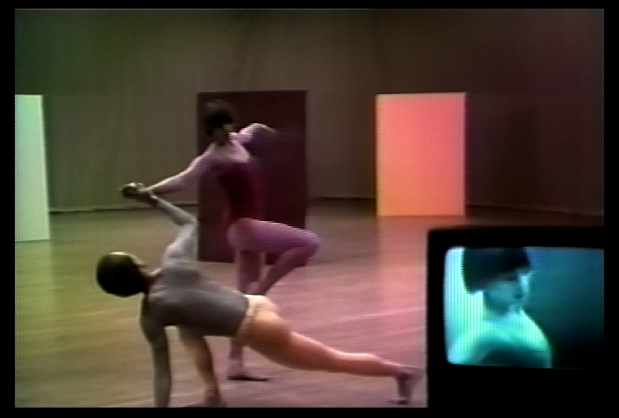 Charles Atlas, Merce Cunningham. Fractions I. 1978