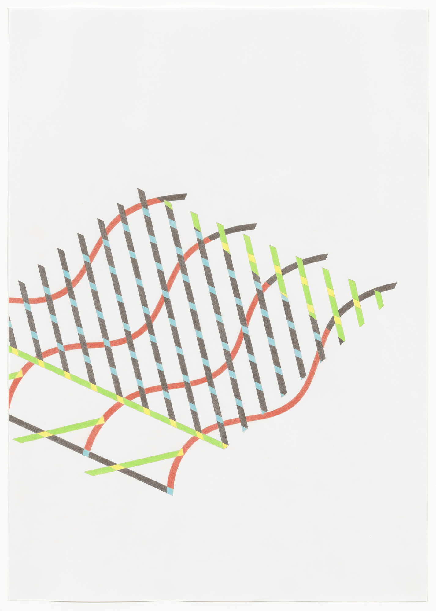 Tomma Abts. Untitled #1B. 2013