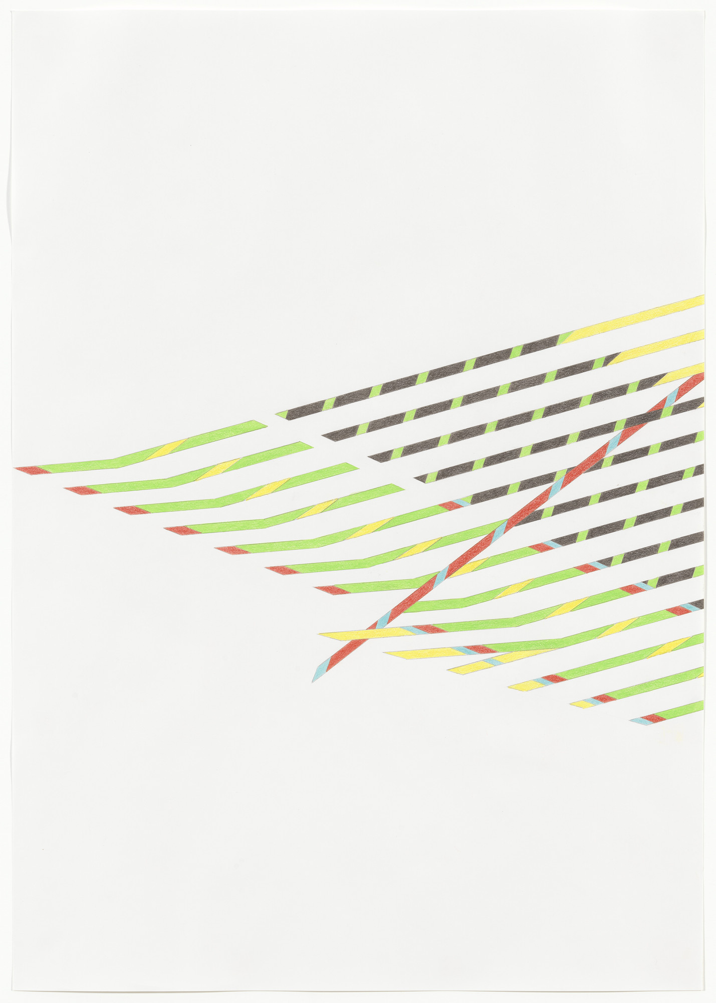Tomma Abts. Untitled #1. 2013