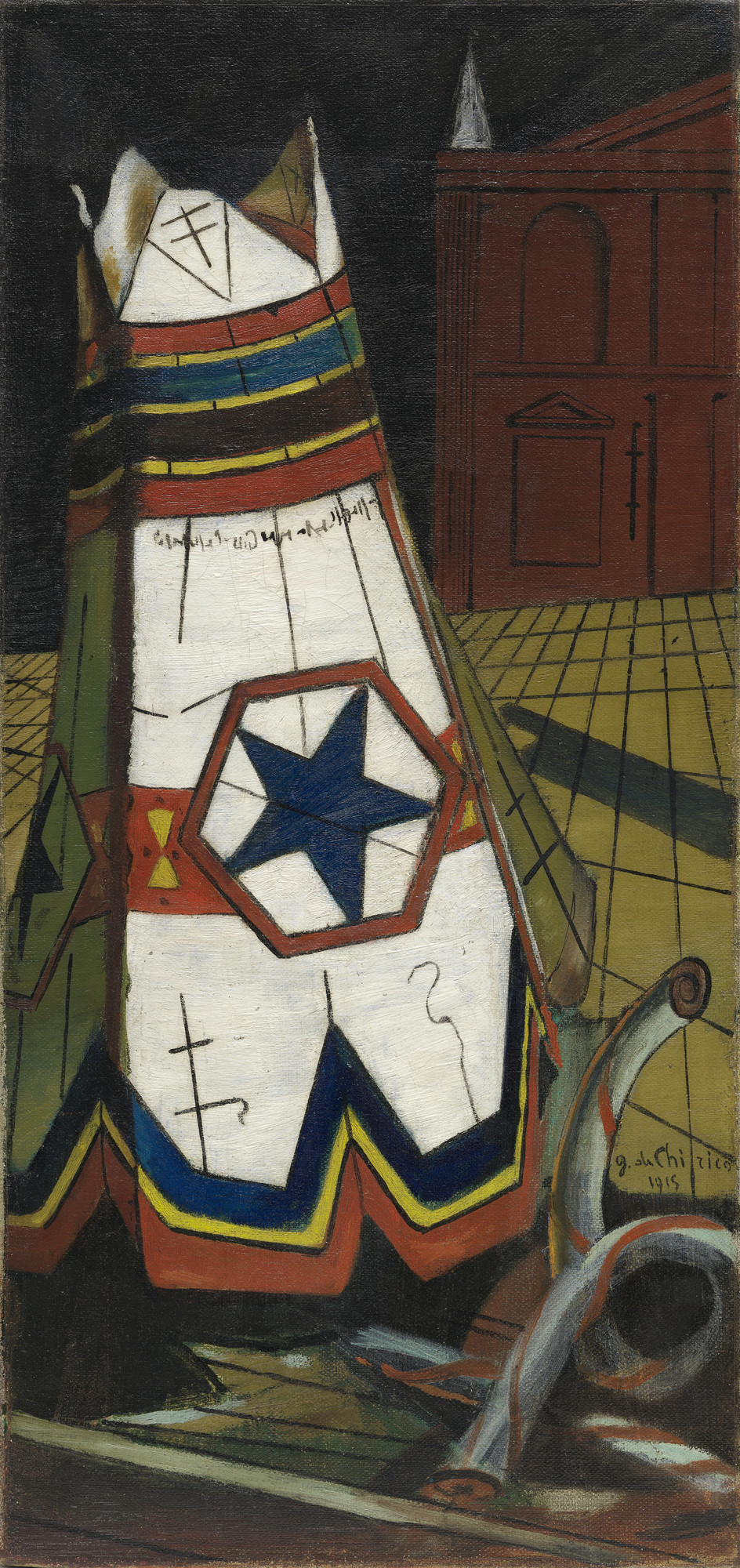 Giorgio de Chirico. Playthings of the Prince. fall 1915