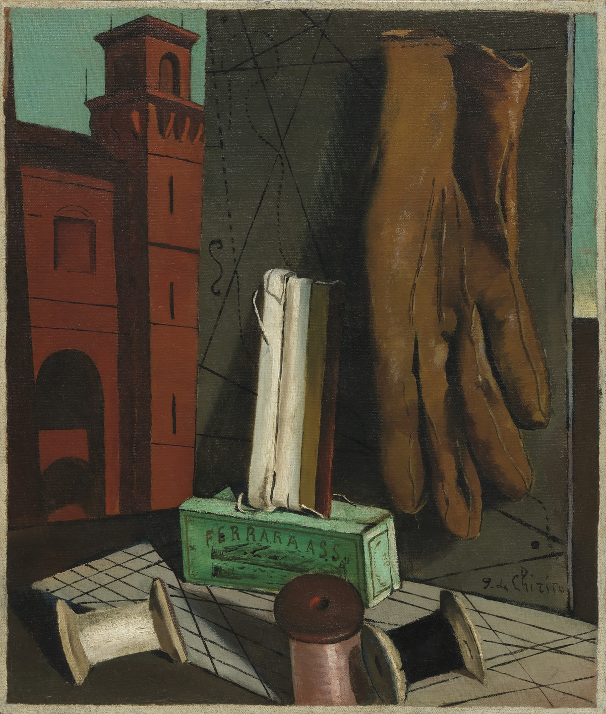 Giorgio de Chirico. The Amusements of a Young Girl. late 1915