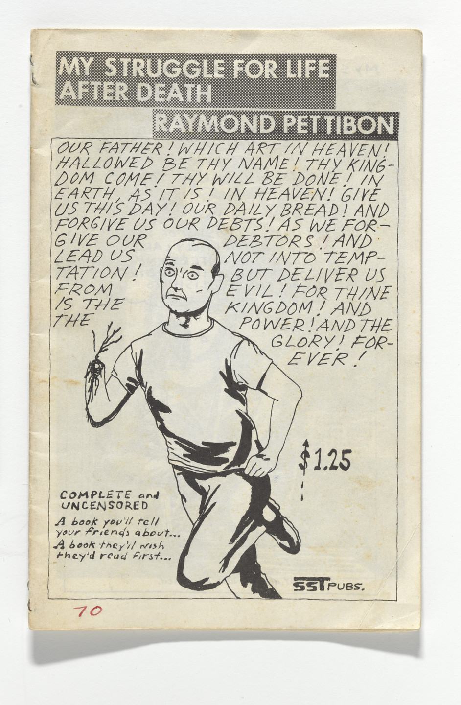 Raymond Pettibon. My Struggle for Life After Death. 1982