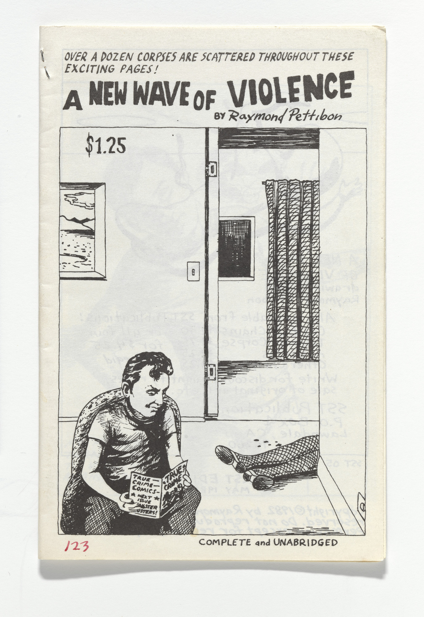 Raymond Pettibon. A New Wave of Violence. 1982