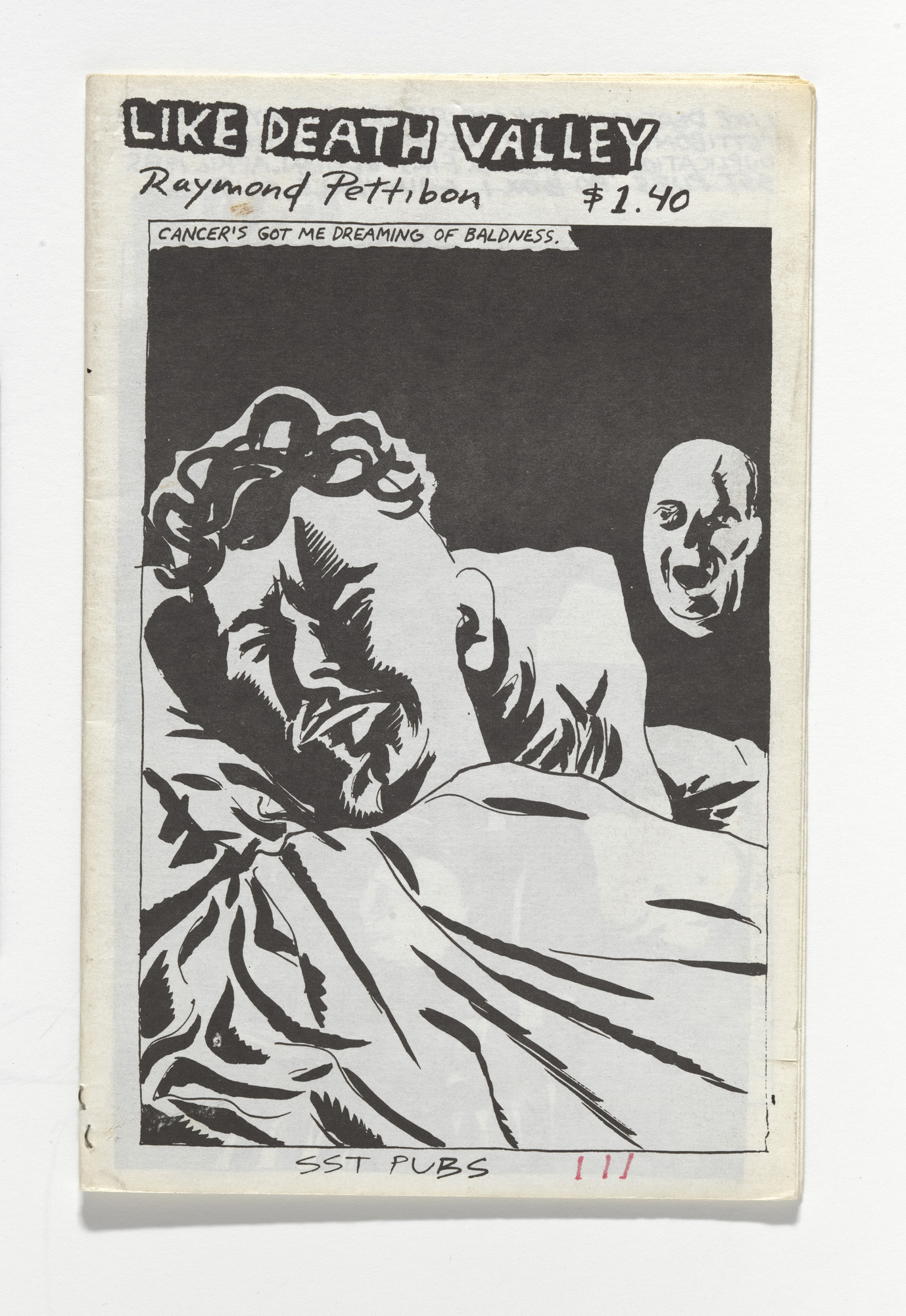 Raymond Pettibon. Like Death Valley. 1985