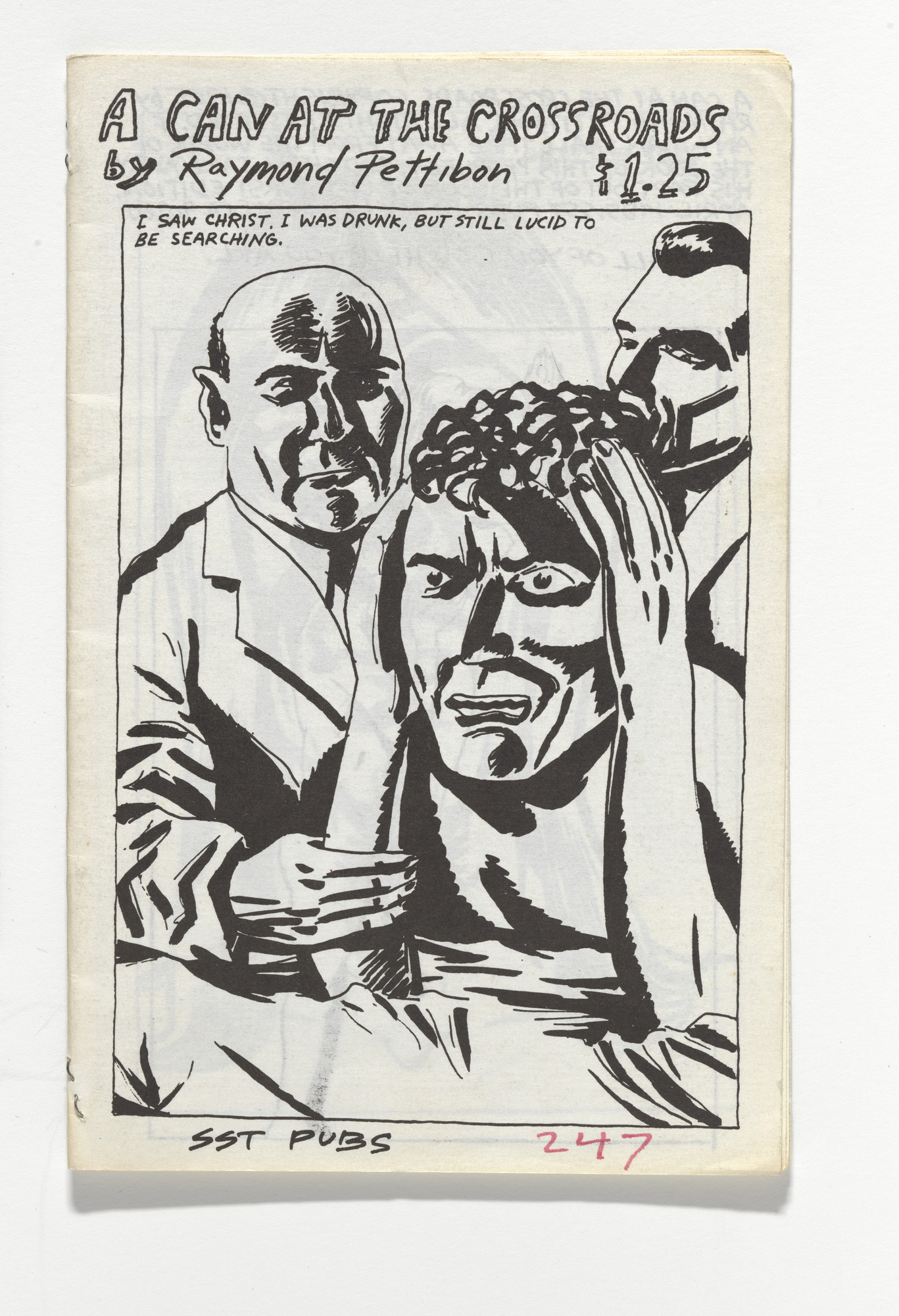 Raymond Pettibon, Nelson Tarpenny. A Can at the Crossroads. 1985
