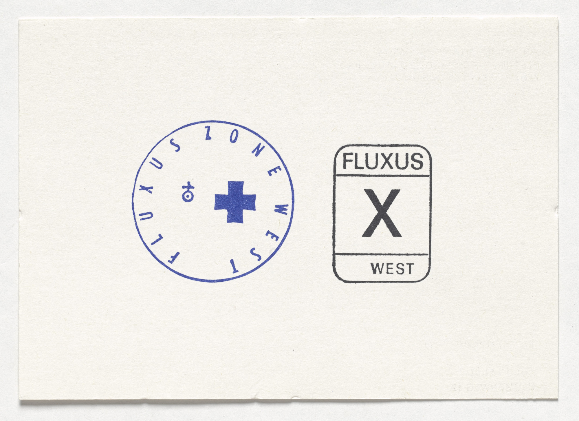 Joseph Beuys, Ken Friedman. Fluxus Zone West / Fluxus West. 1971