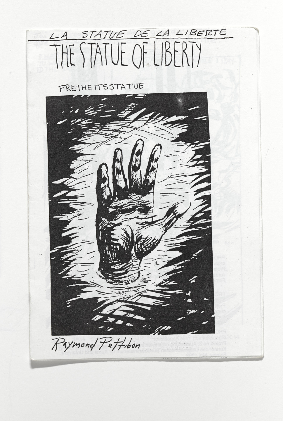 Raymond Pettibon. The Statue of Liberty. 1993