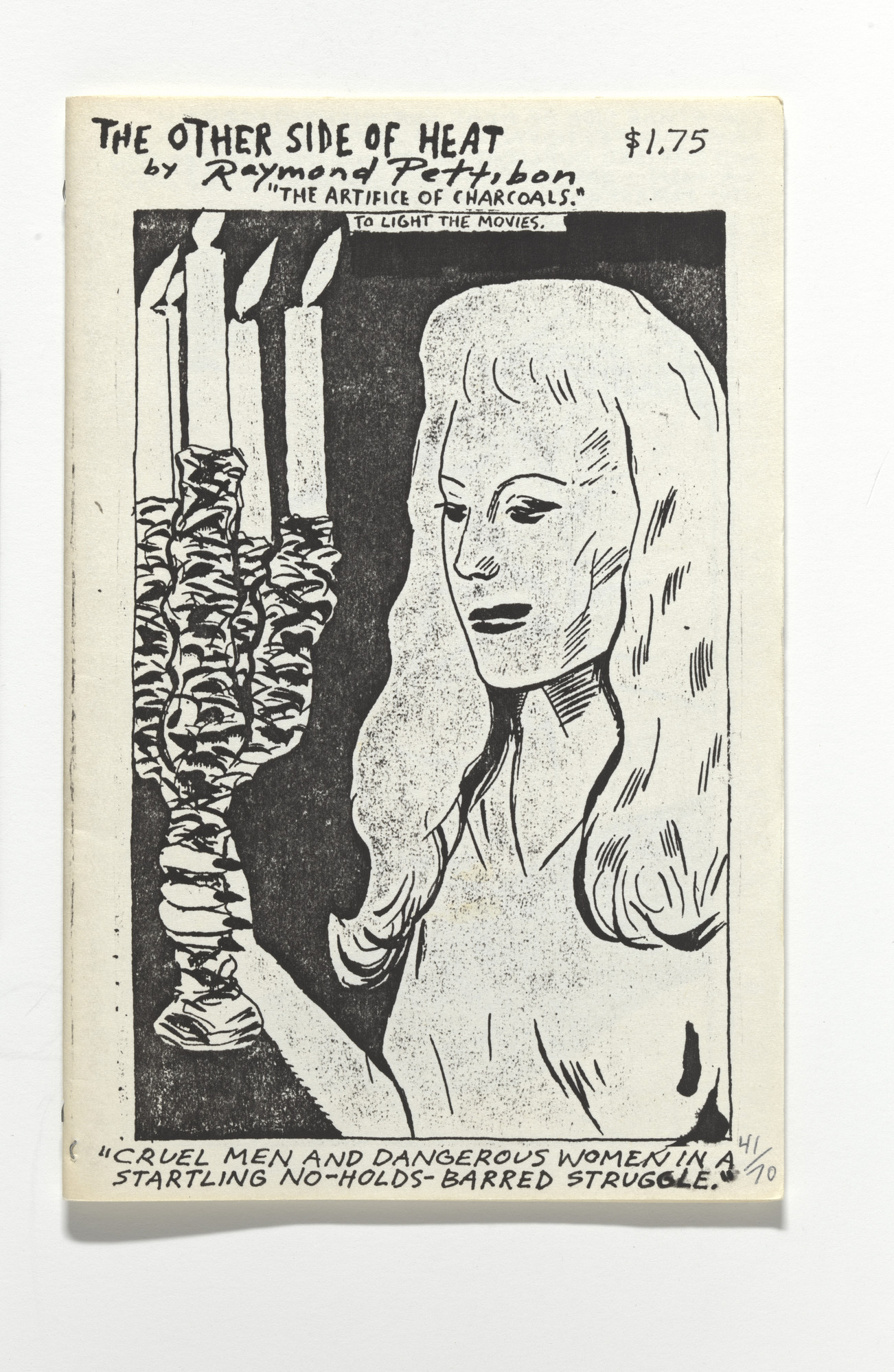 Raymond Pettibon, Nelson Tarpenny. The Other Side of Head. The Artifice of Charcoals.. 1989
