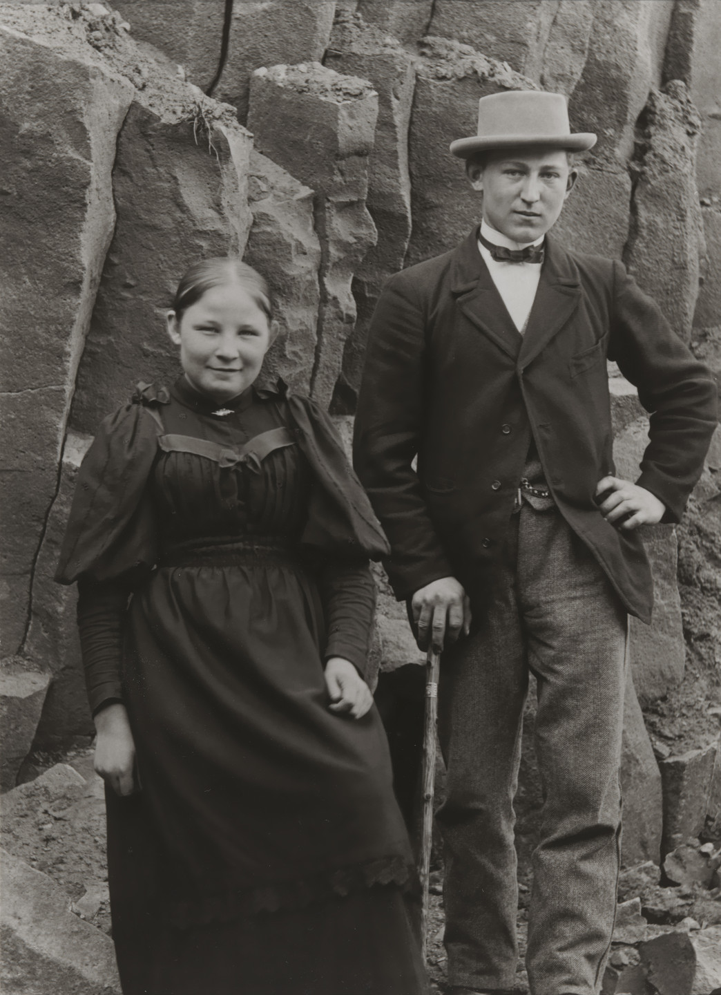 August Sander. Hikers on the Hohenseelbachskopf. 1892
