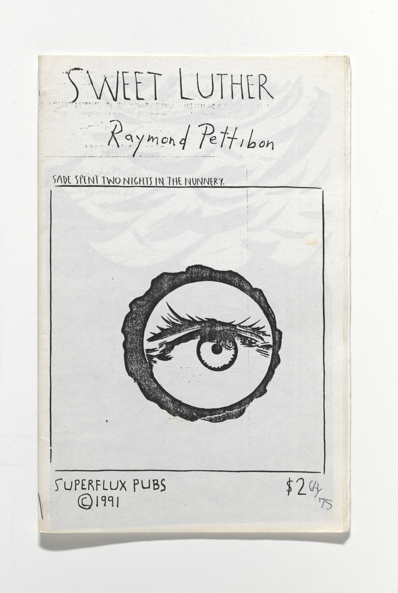 Raymond Pettibon. Sweet Luther. 1991