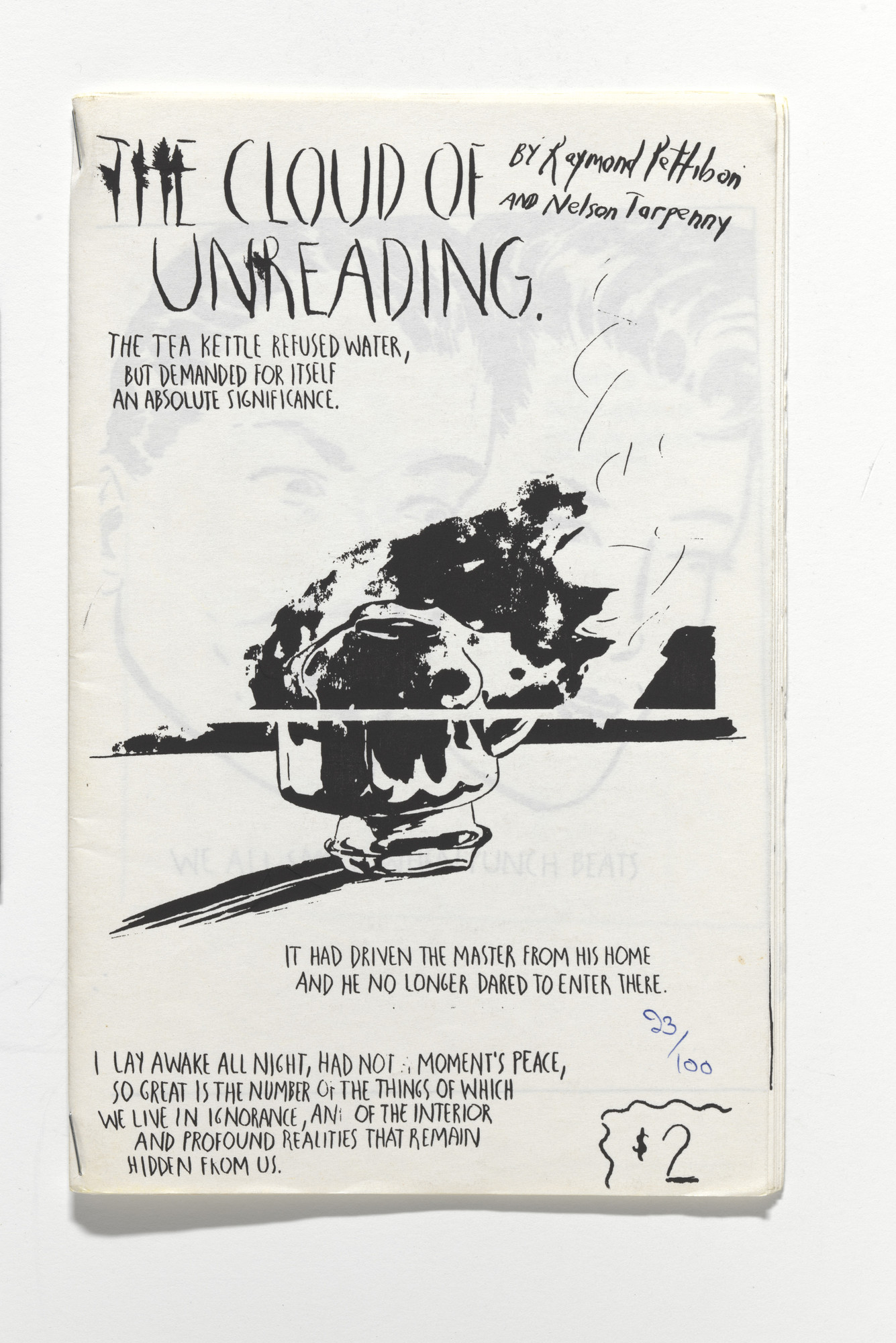 Raymond Pettibon, Nelson Tarpenny. The Cloud of Unreading. 1992