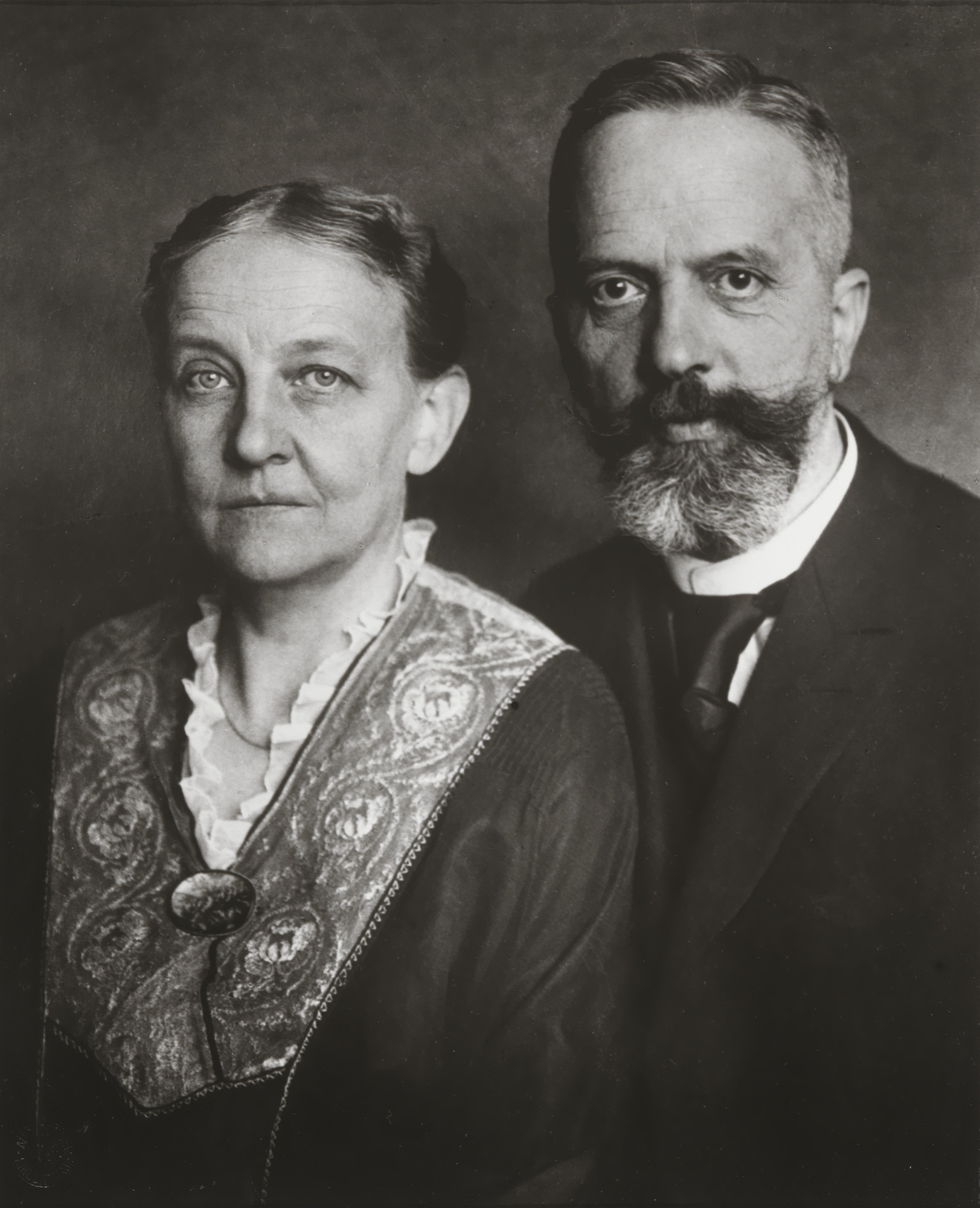 August Sander. Wholesale Merchant and Wife. 1923