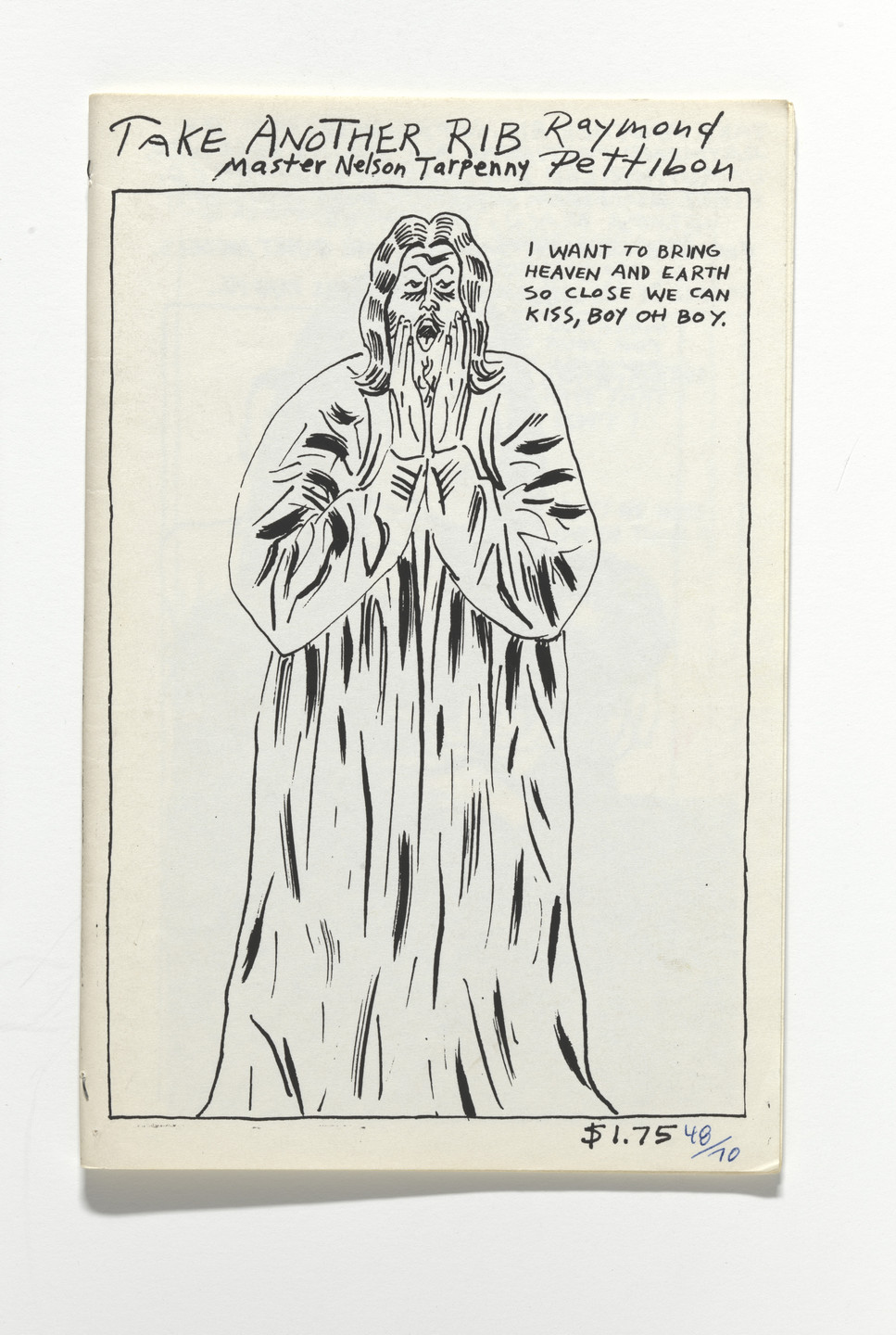 Raymond Pettibon, Nelson Tarpenny. Taken Another Rib. 1989