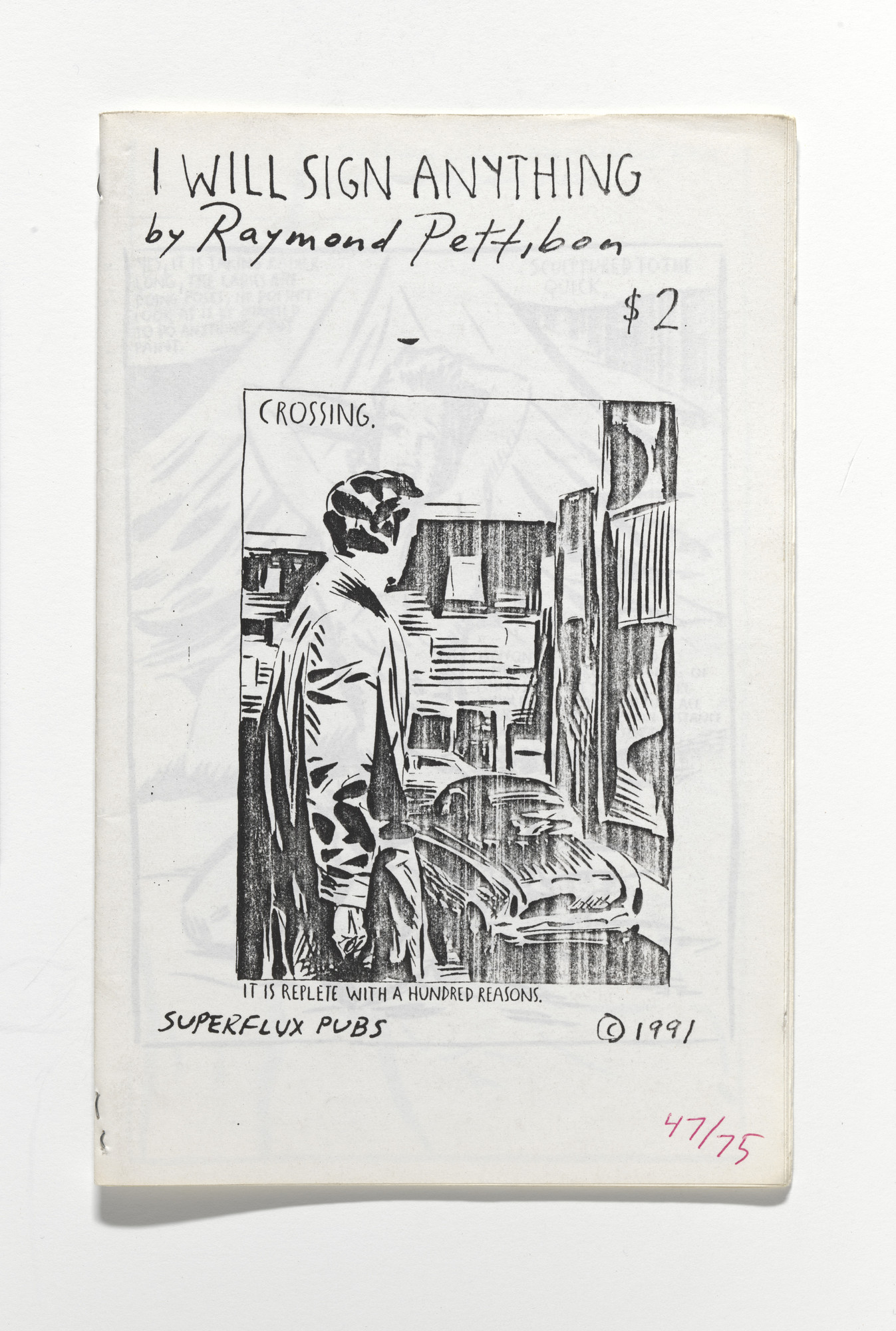 Raymond Pettibon. I Will Sign Anything. 1991