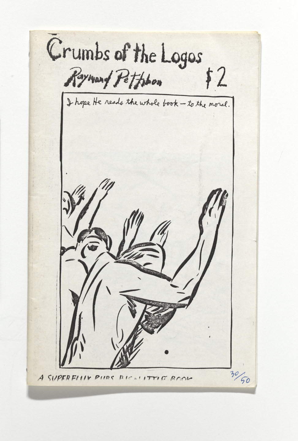 Raymond Pettibon. Crumbs of the Logos. 1990