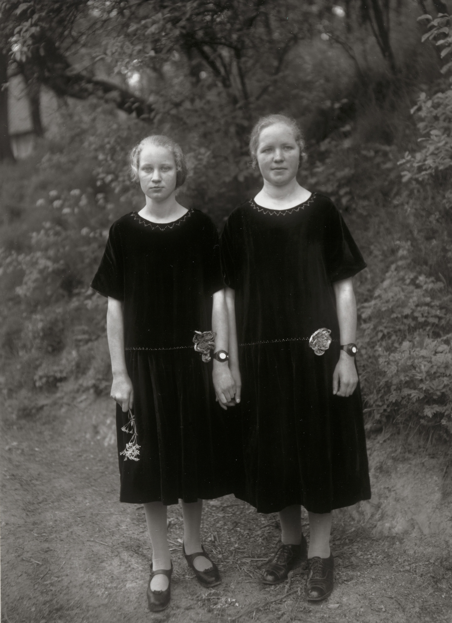August Sander. Country Girls. 1925