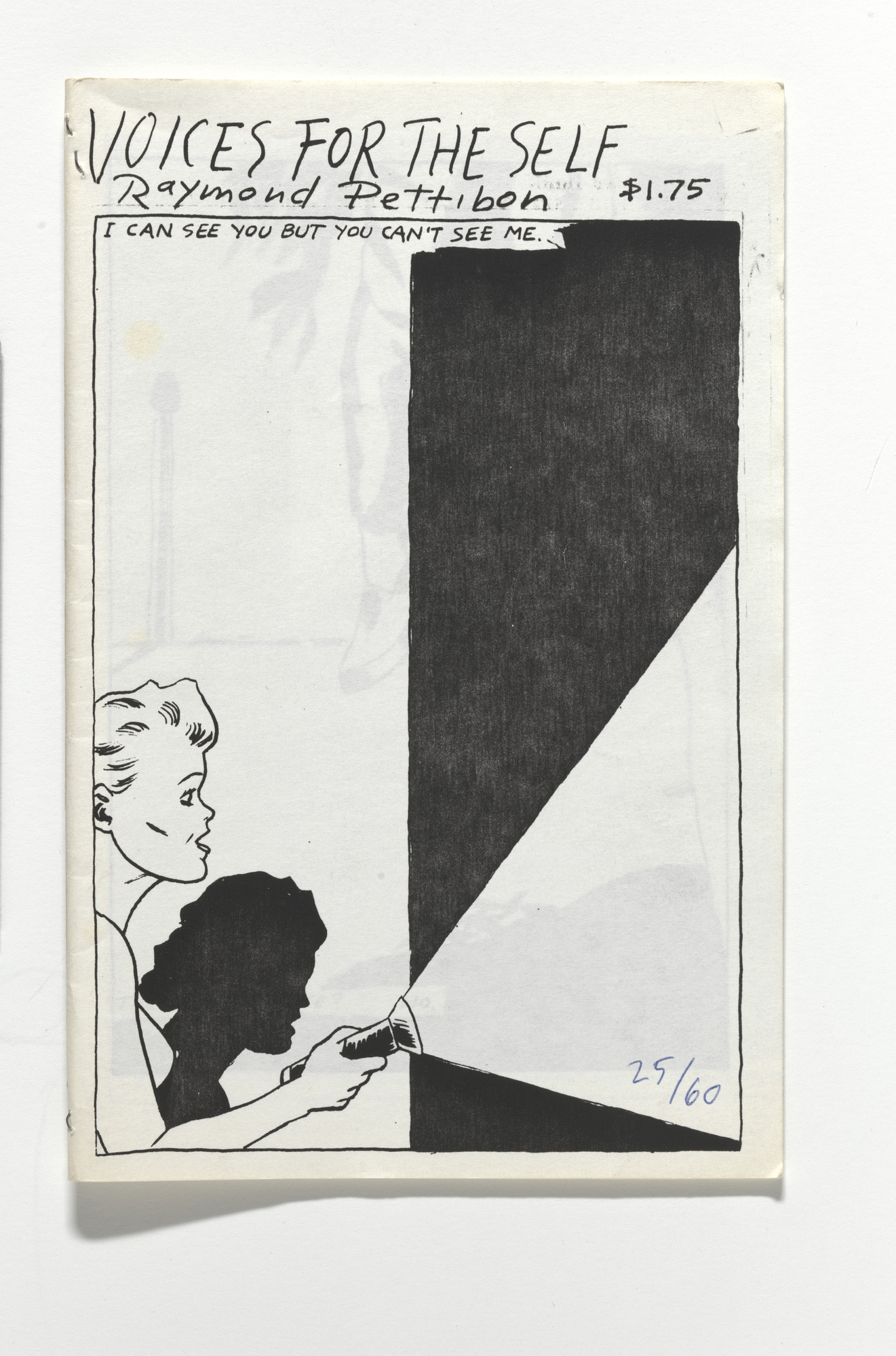 Raymond Pettibon. Voices for the Self. 1988