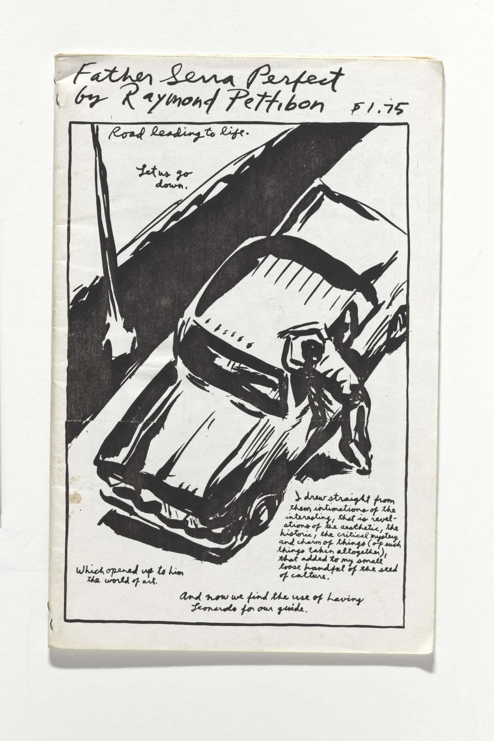 Raymond Pettibon. Father Serra Perfect. 1988
