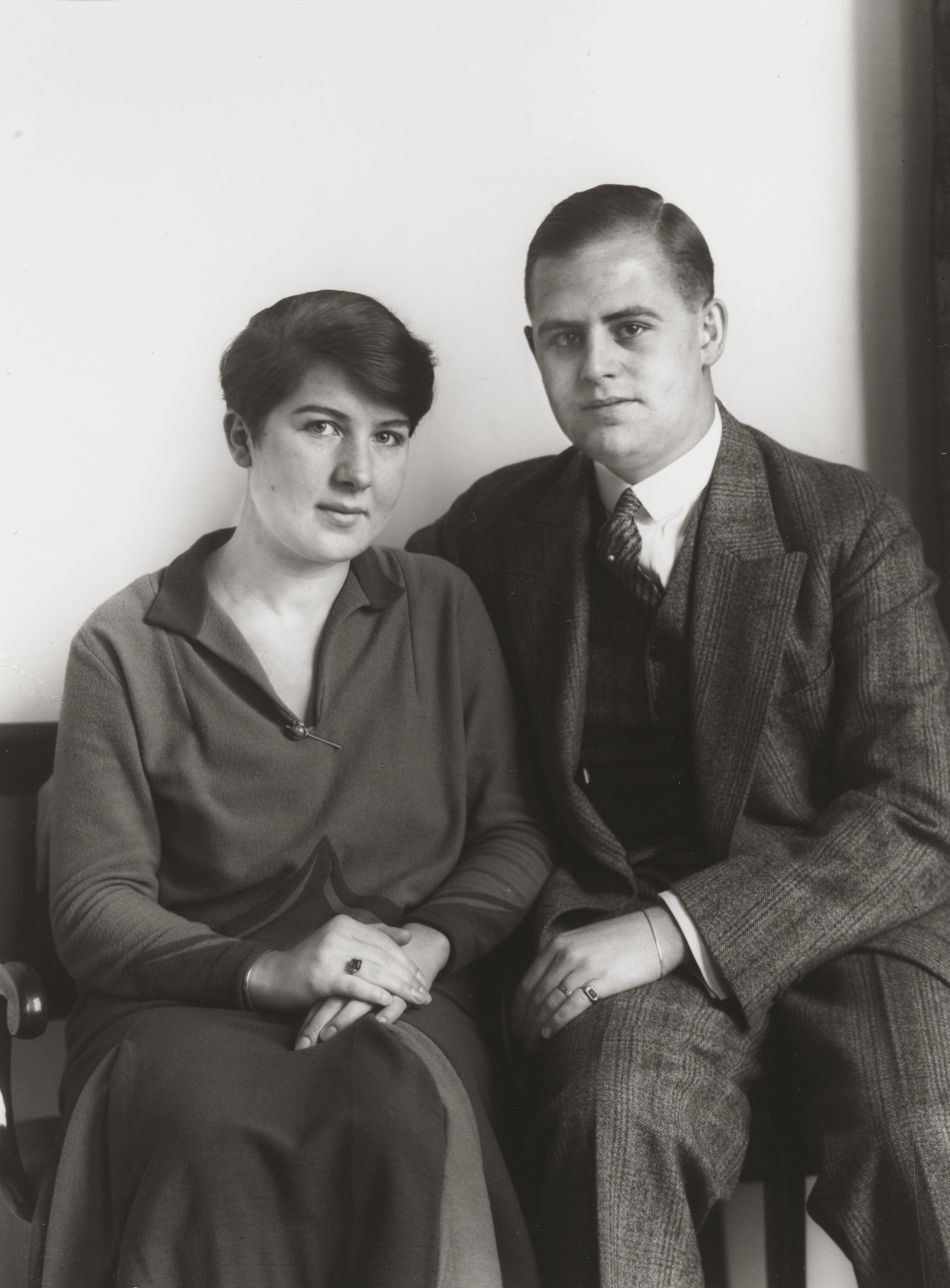 August Sander. Professional Middle-class Couple. 1927