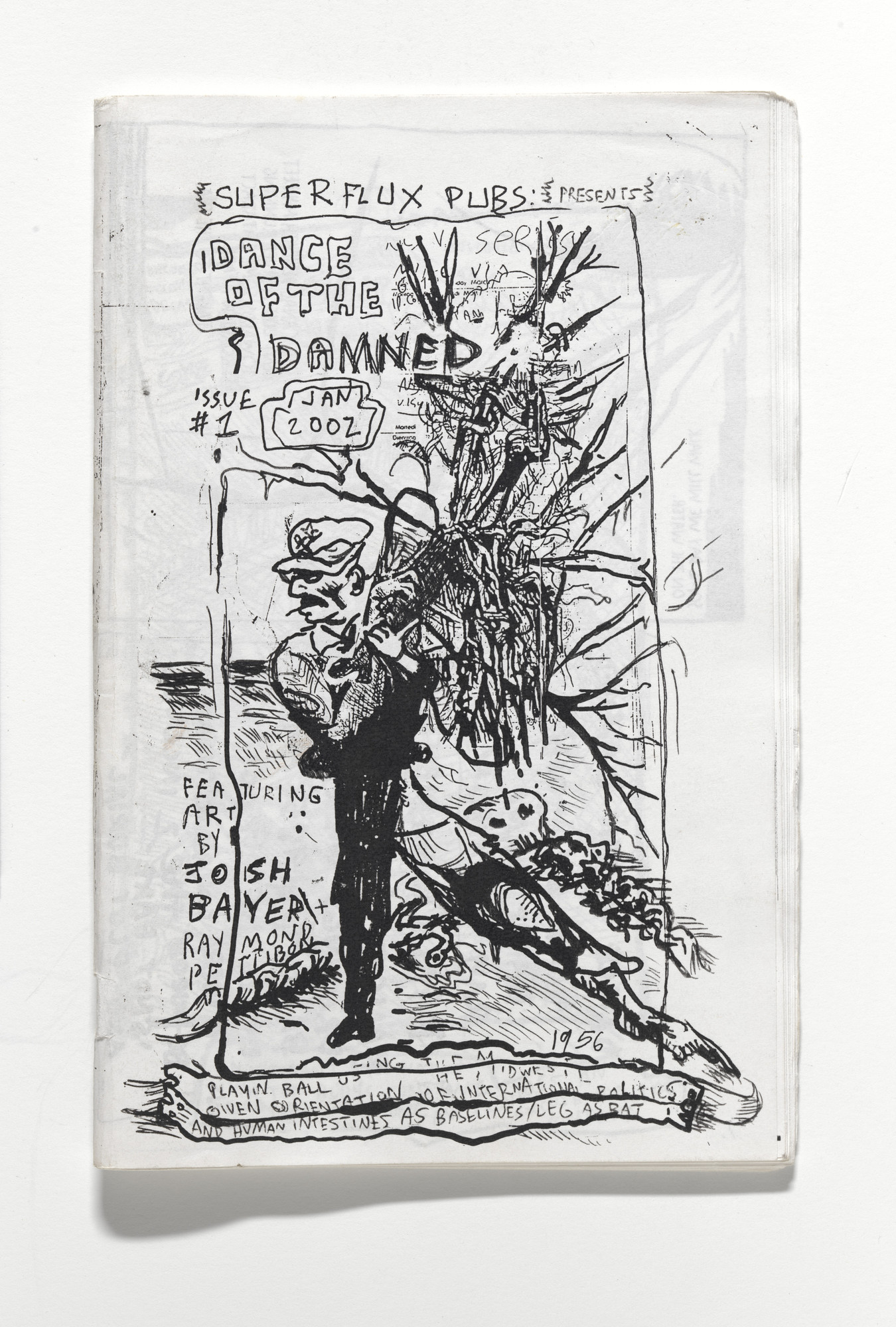 Raymond Pettibon. Superflux Pubs Presents: Dance of the Damned. 2002