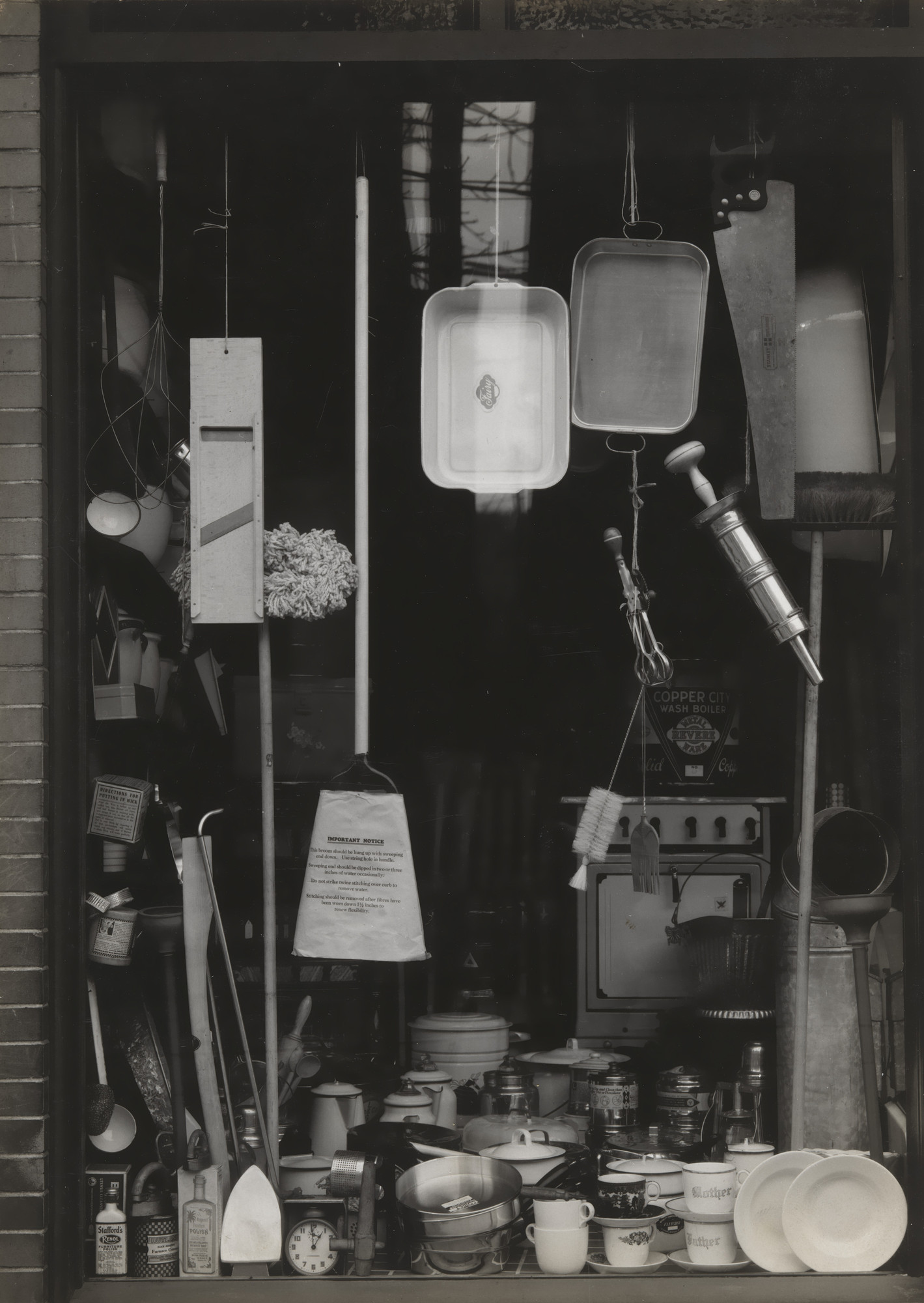 Walker Evans. Window Display, Bethlehem, Pennsylvania. November 10, 1935