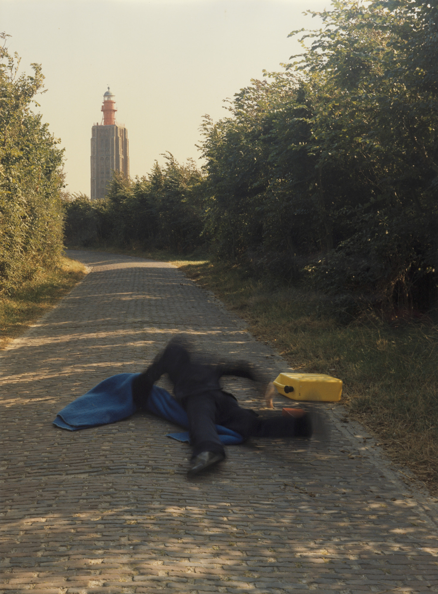 Bas Jan Ader. Pitfall On the Way To a New Neo-Plasticism, Westkapelle, Holland. 1971