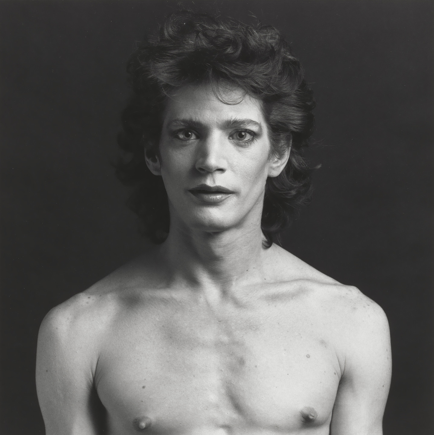 Robert Mapplethorpe. Self-Portrait. 1980
