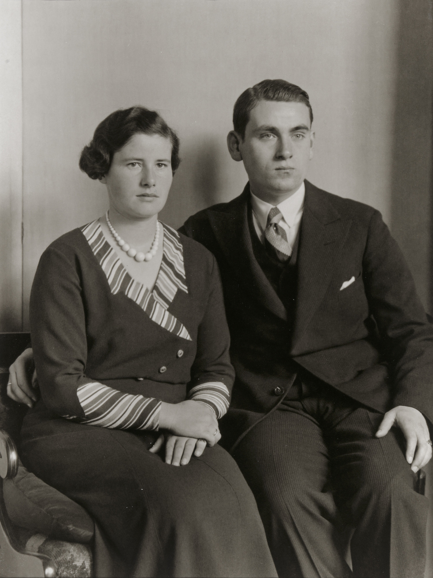 August Sander. Young Married Couple. 1930s
