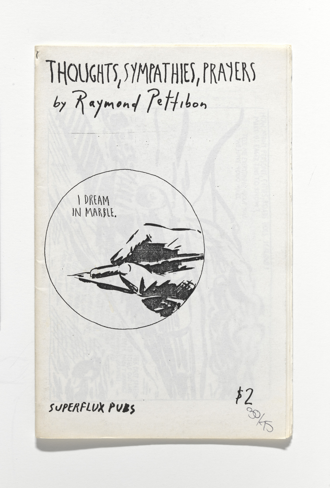 Raymond Pettibon. Thoughts, Sympathies, Prayers. 1991