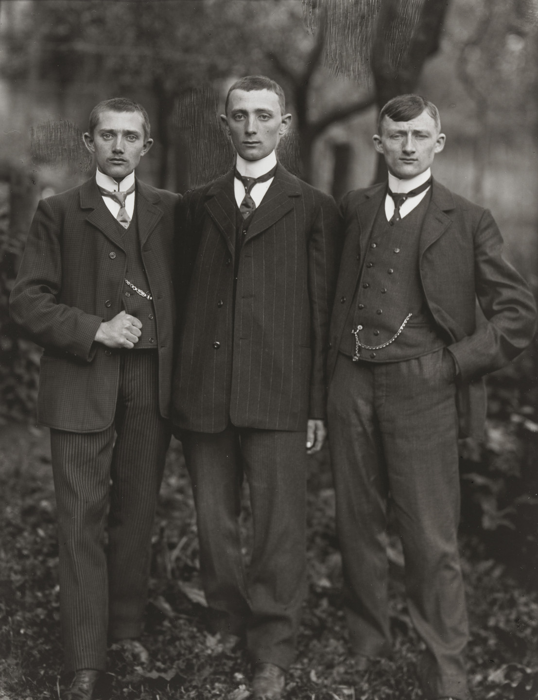 August Sander. Country Lads from the Westerwald. 1912