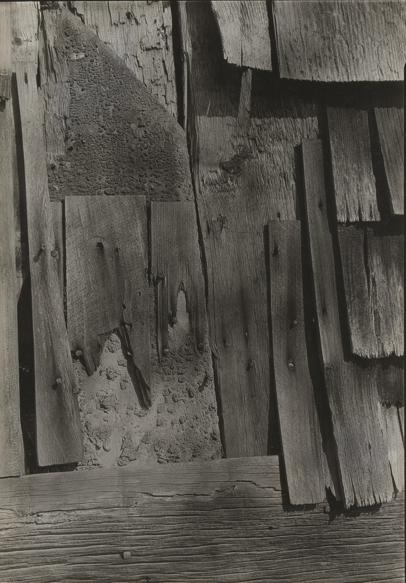 Walker Evans. Untitled (wood). 1930