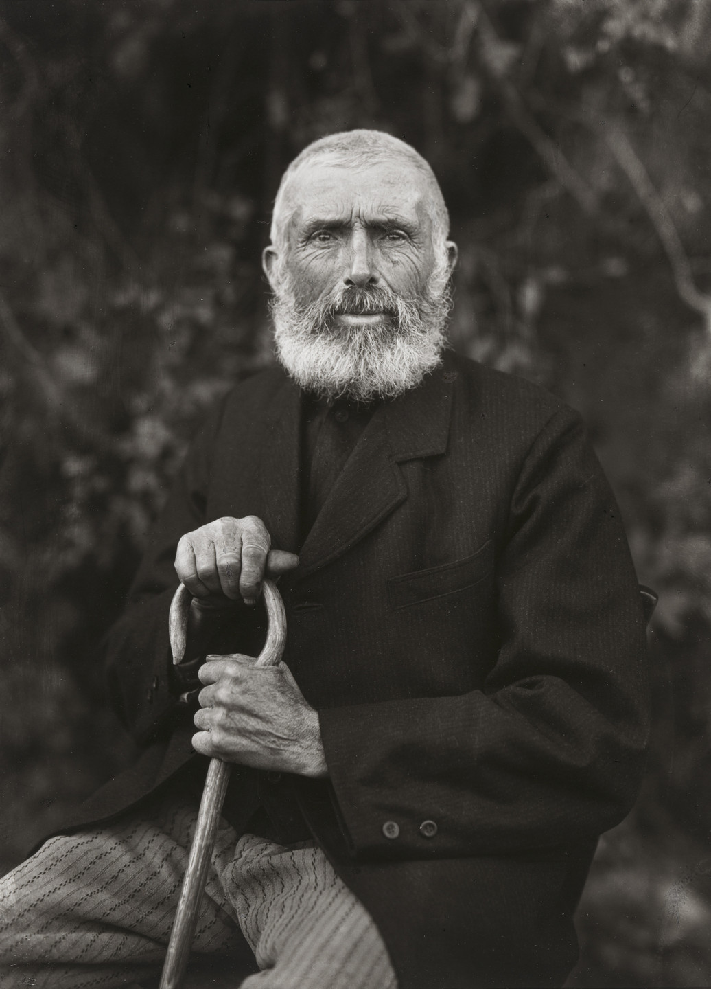 August Sander. The Man of the Soil. 1910