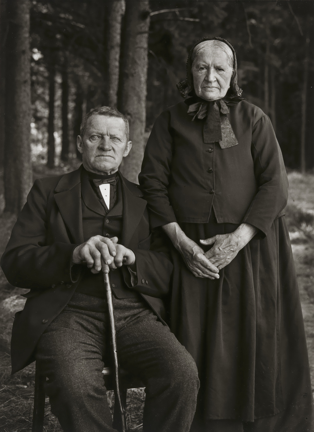 August Sander. Farming Couple – Propriety and Harmony. 1912